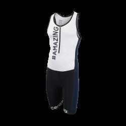 Men's sleeveless trisuit
