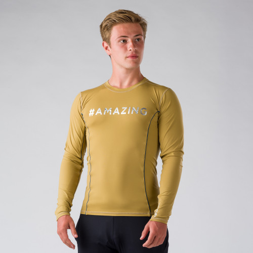 Val d'Isère : tee-shirt homme manches longues