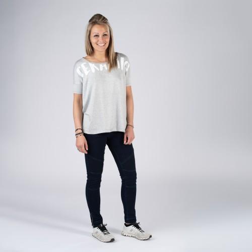 Boucacano : t-shirt encolure large femme
