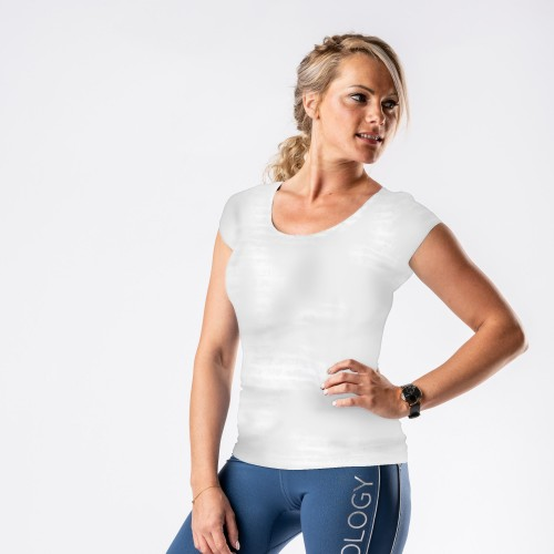 TEE-SHIRT BLANC PROFESSIONNEL MEDICAL - FEMME