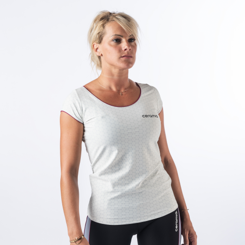TEE-SHIRT MANCHES COURTES FORME LOOSE